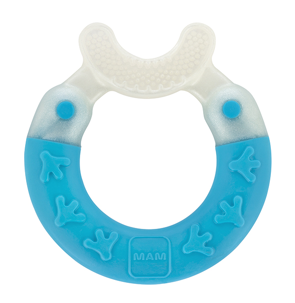 MAM Bite and Brush Teether, 3+ Months, 1-Count