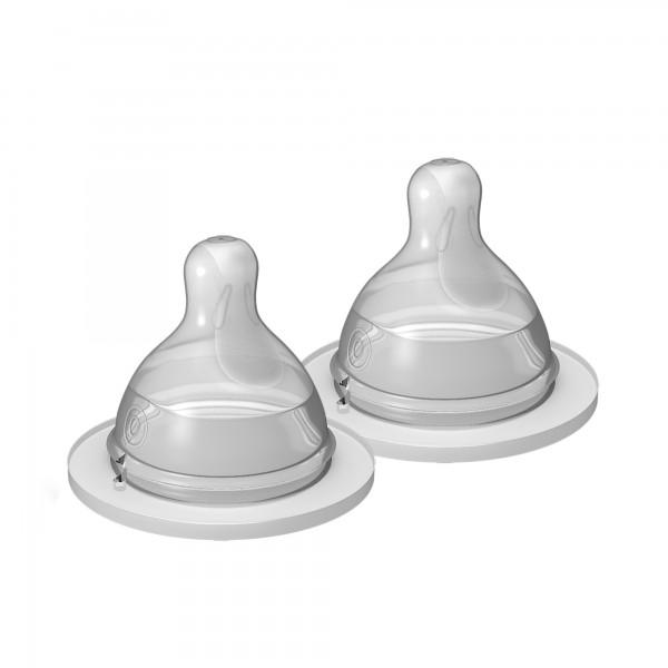 MAM Extra Slow Flow Nipple - 2 pack
