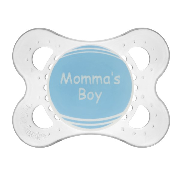 MAM Personalized Pacifiers, Blue, 0-6 Months