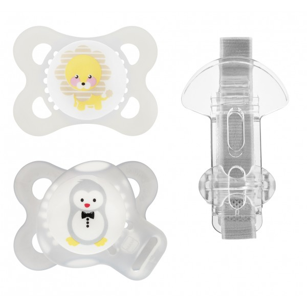 MAM Original 0-6 Months Pacifier Value Pack - Lion