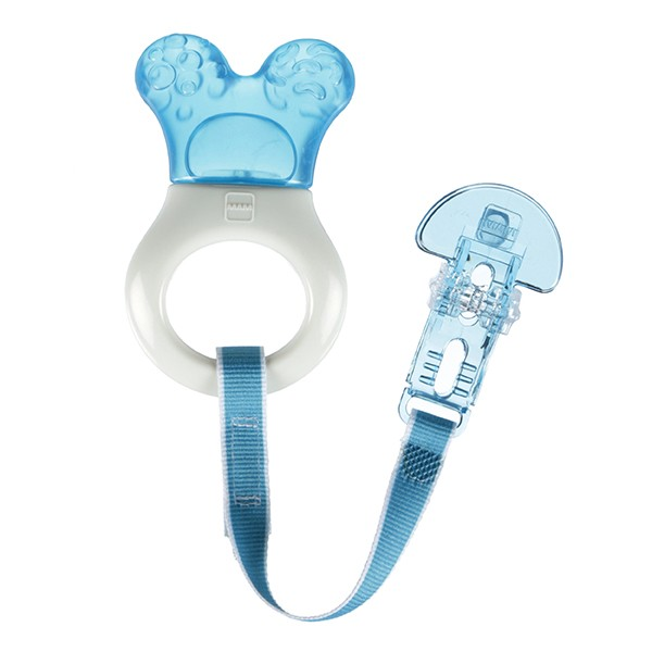 MAM Mini Cooler with Clip Teether- Blue