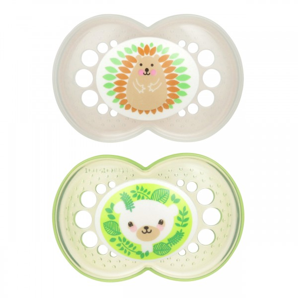 MAM Animal Pacifier - 6+ Months - Hedgehog