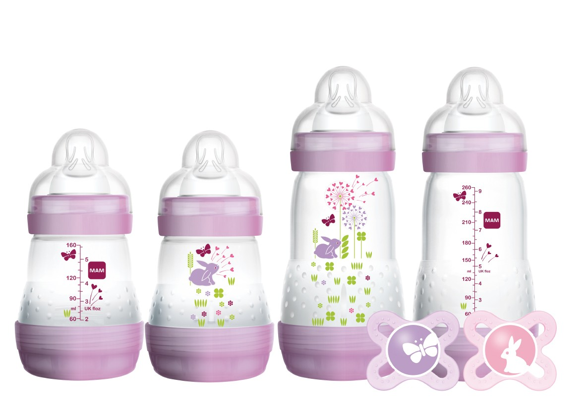 MAM Feed /& Soothe Set WHITE