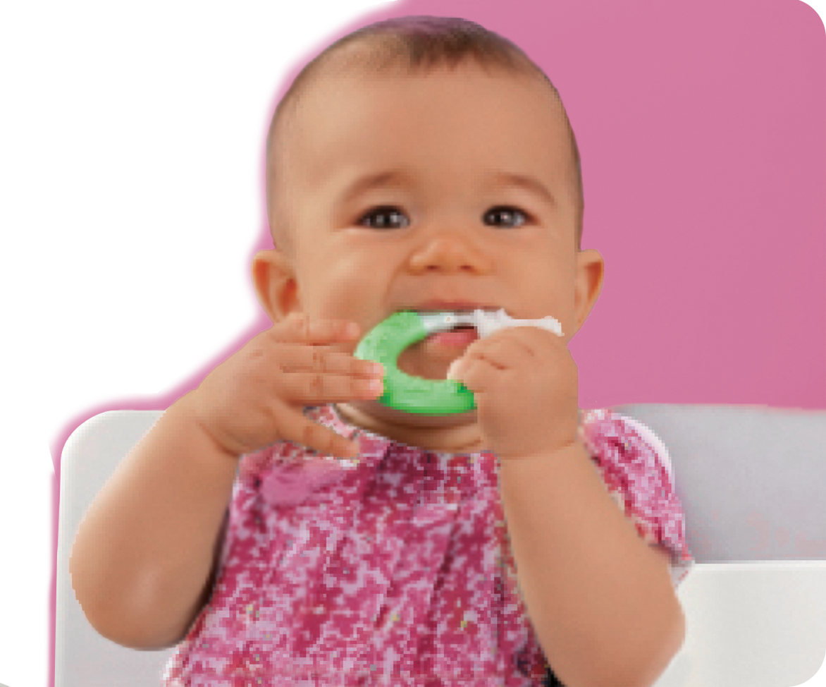 MAM Baby teethers and toothbrushes